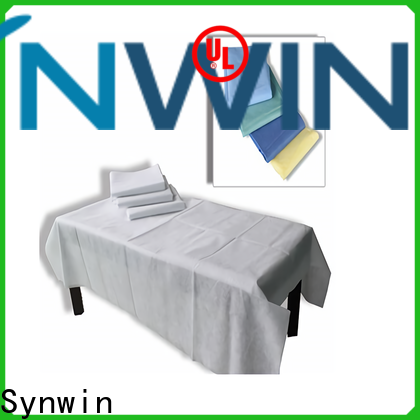 Synwin High-quality non woven bed sheet roll factory for tablecloth