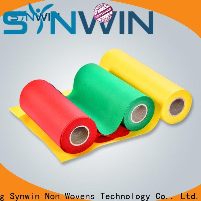 Synwin at pp non woven material suppliers for household