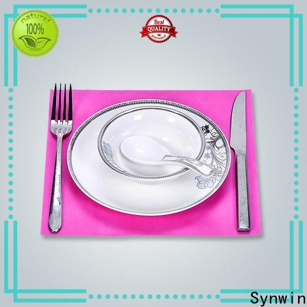 Synwin swtc004 gold placemats round factory for hotel