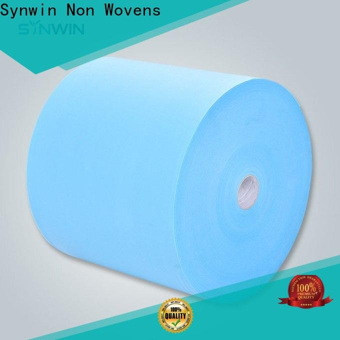 Custom polyester spunbond nonwoven fabric woven suppliers for tablecloth