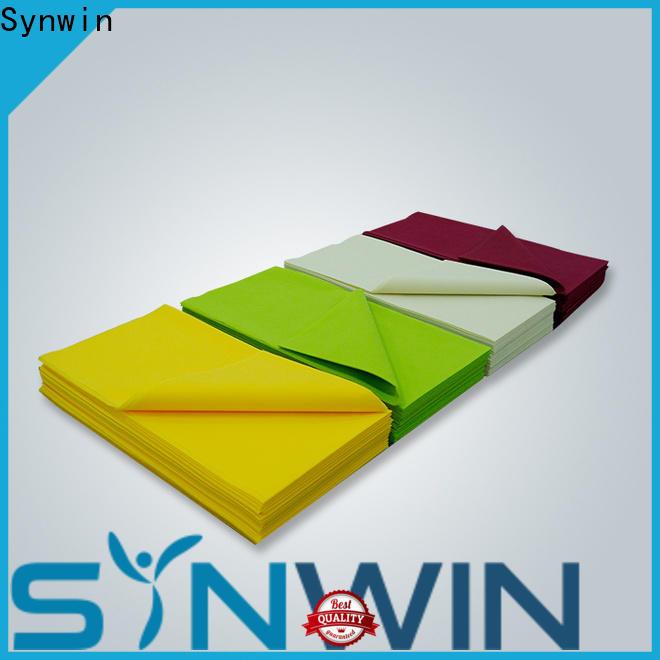 Synwin non nonwoven table cloth factory for home