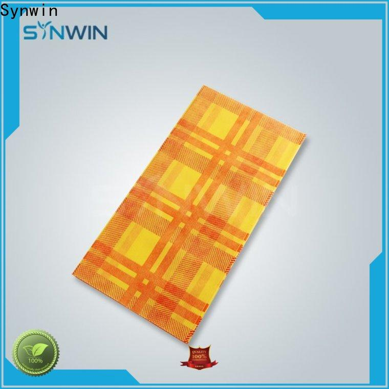 Synwin table woven tablecloths factory for hotel