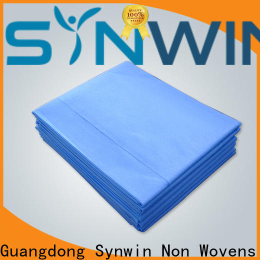 Synwin Wholesale hospital bed sheet price company for tablecloth