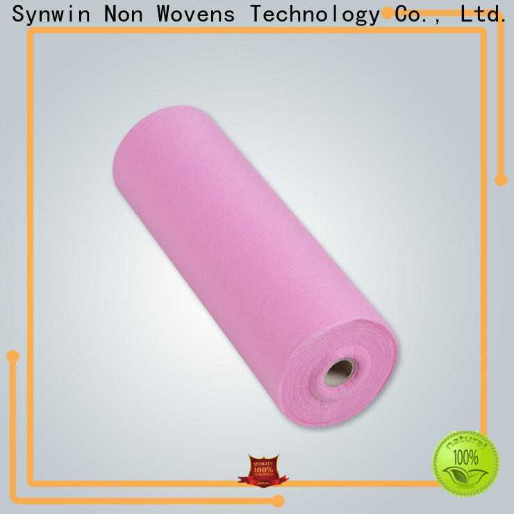Synwin disposable medical examination bed sheets suppliers for tablecloth