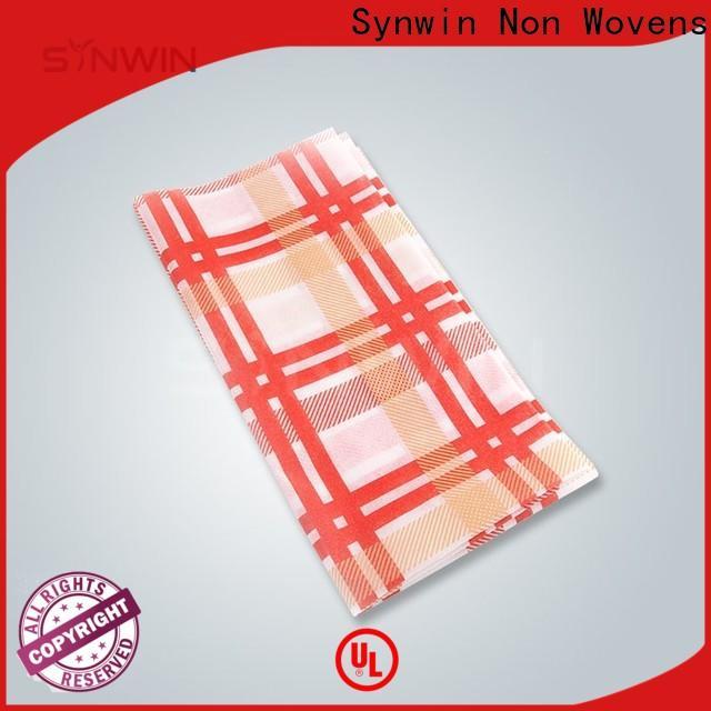 Synwin Custom non woven fabric tablecloth company for home