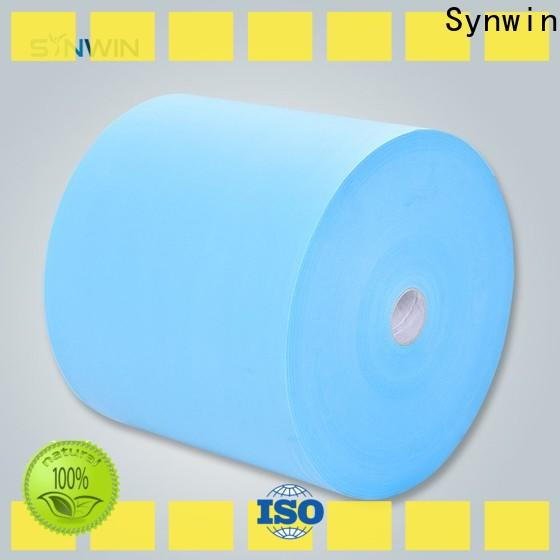 Synwin bright pp non woven material suppliers for wrapping