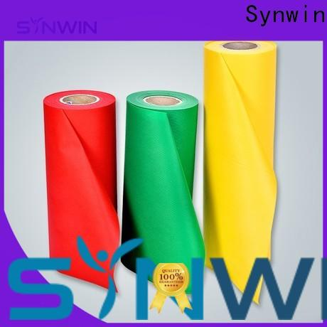 Synwin using non woven polypropylene roll supply for household
