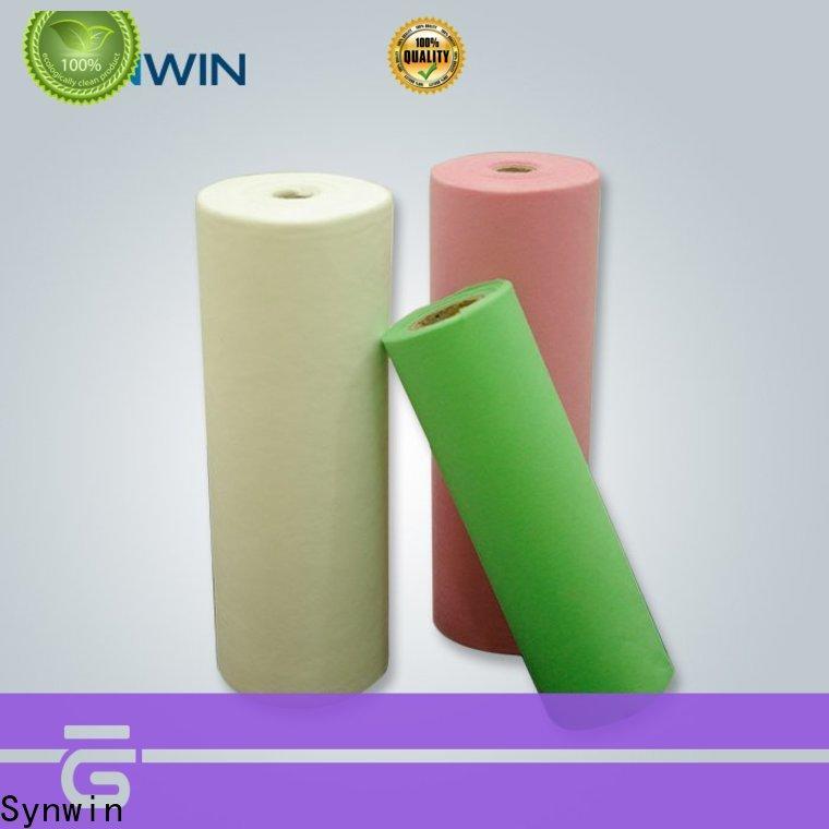 Synwin spring spun bonded polypropylene fabric supply for home