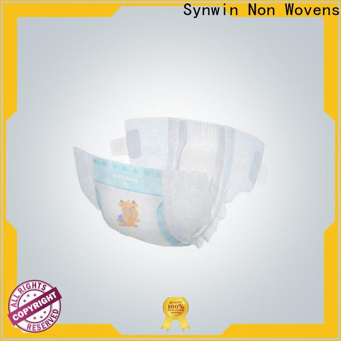 Latest diaper material woven factory for packaging