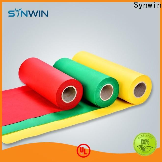 Synwin Latest pp non woven material manufacturers for household