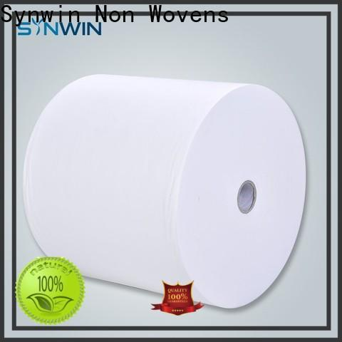Synwin woven polyester spunbond fabric suppliers for home