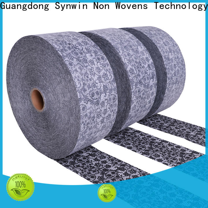 Synwin Best spunlace non woven fabric for wet wipes company for home