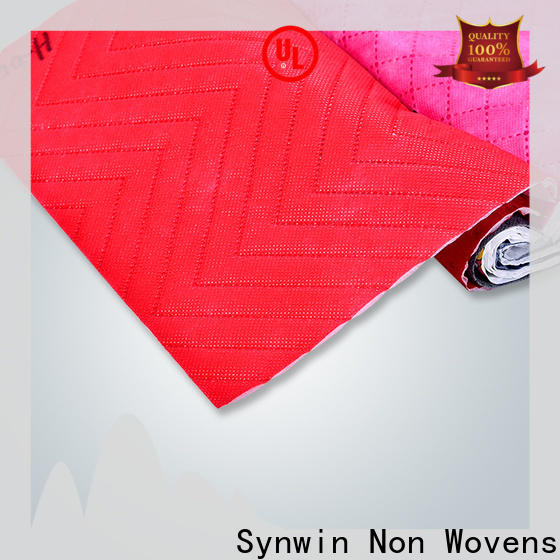 Synwin swfu002 non woven fabric roll price list suppliers for hotel