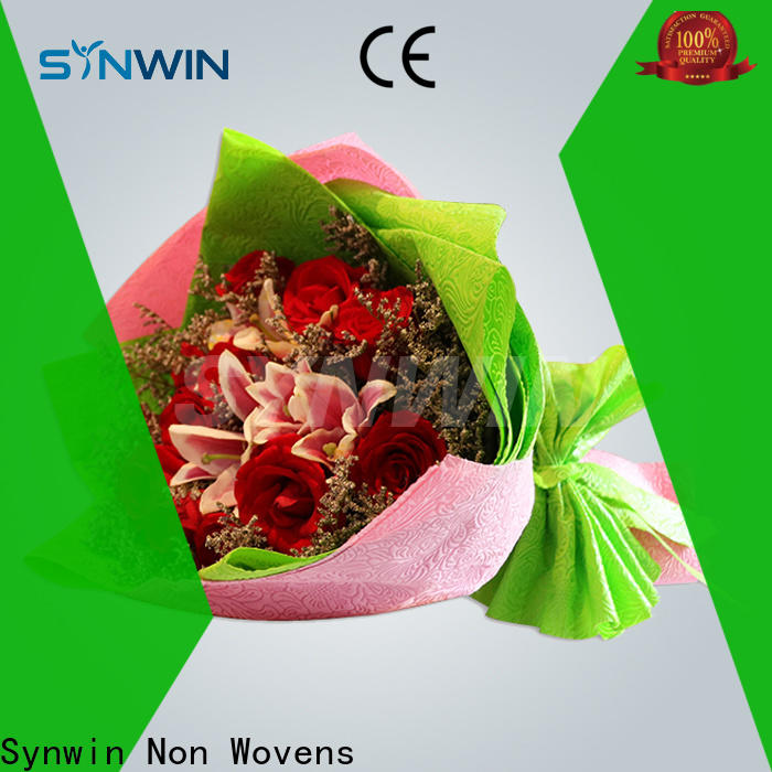 Synwin High-quality wholesale non woven fabrics suppliers for wrapping