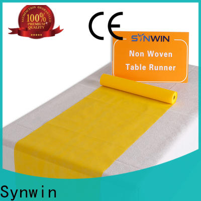 Synwin tablerunner non woven wipes manufacturer for business for household
