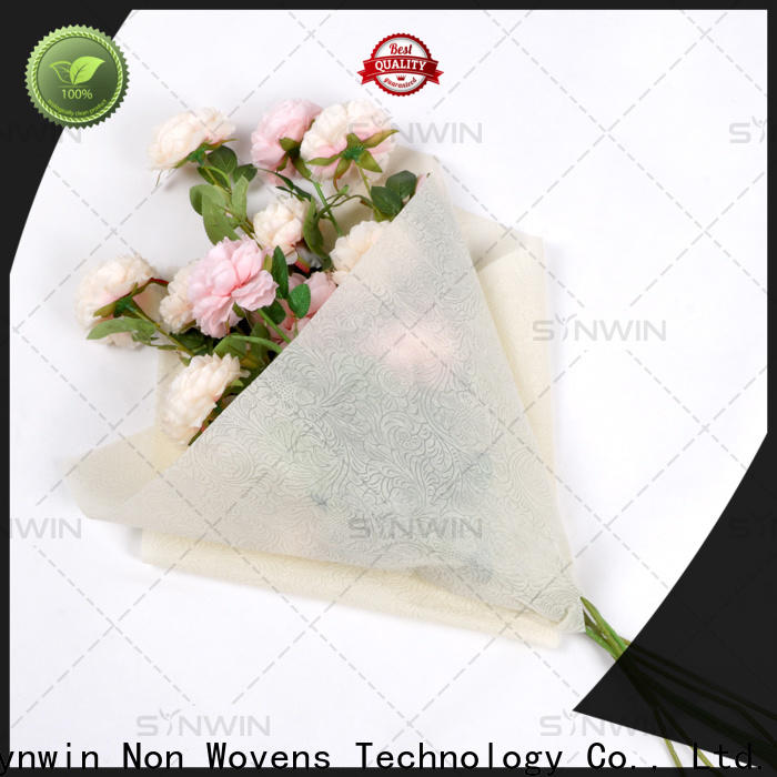 Synwin Wholesale non woven fabric online factory for packaging
