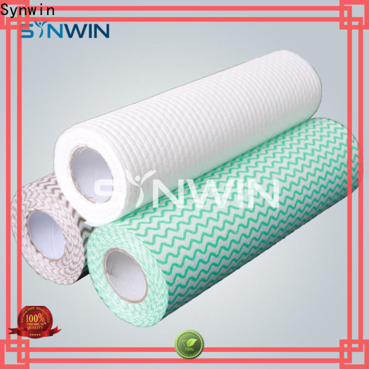 Synwin High-quality spunlace non woven fabric for wet wipes company for hotel
