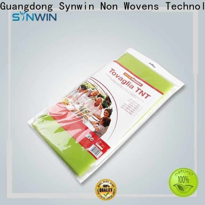 Synwin High-quality non woven fabric tablecloth suppliers for home