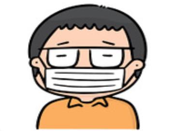 How to wear gauze medical mask correctly