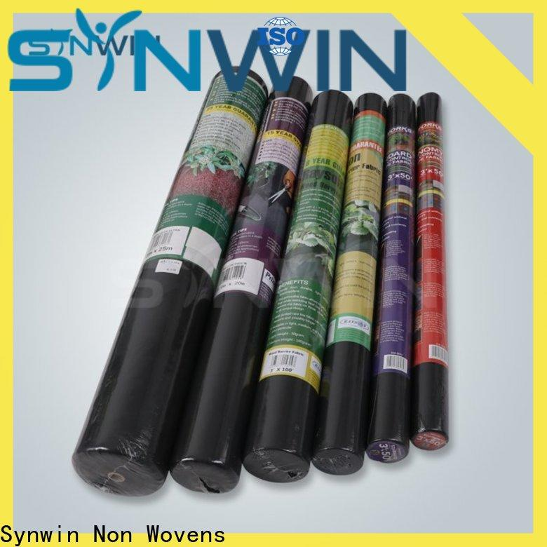 Synwin Top ground cover fabric manufacturers for garden
