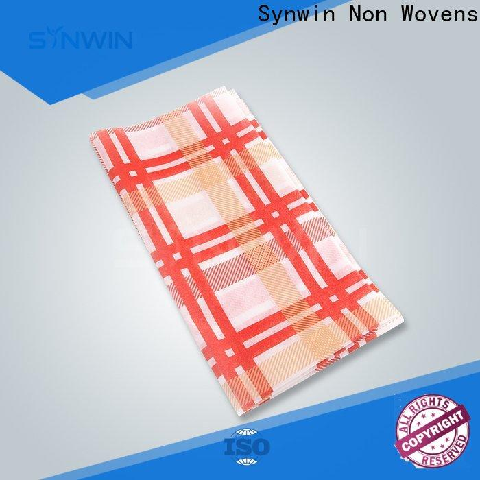 High-quality non woven tablecloth swtc005 manufacturers for home