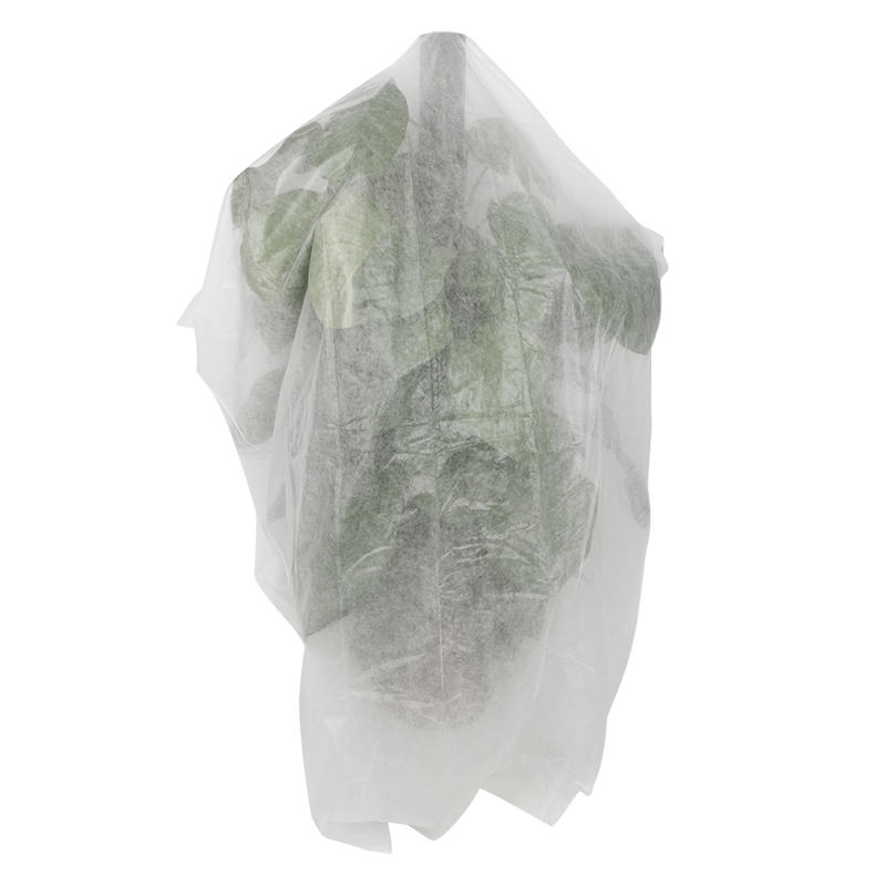 Eco-friendly Agriculture Biodegradable Non Woven Garden Plant Cover Fabric
