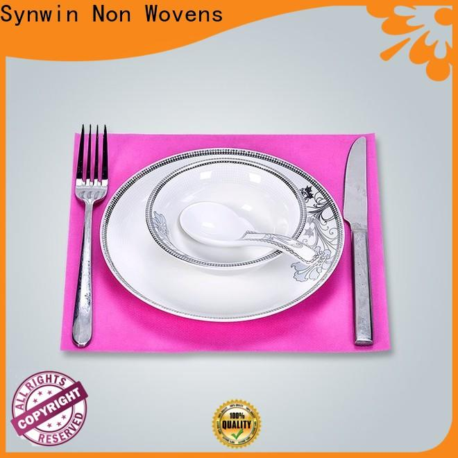 Synwin Top gold placemats round supply for tablecloth