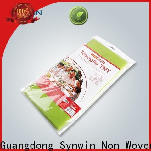 Synwin Custom disposable table cloths suppliers for hotel