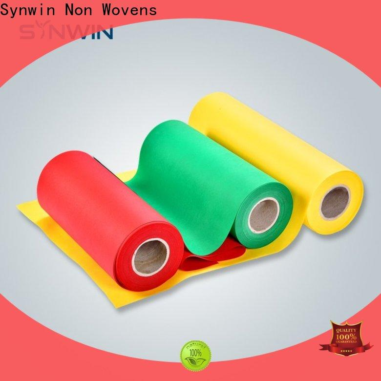 Synwin spunbond ss nonwoven fabric manufacturers for packaging