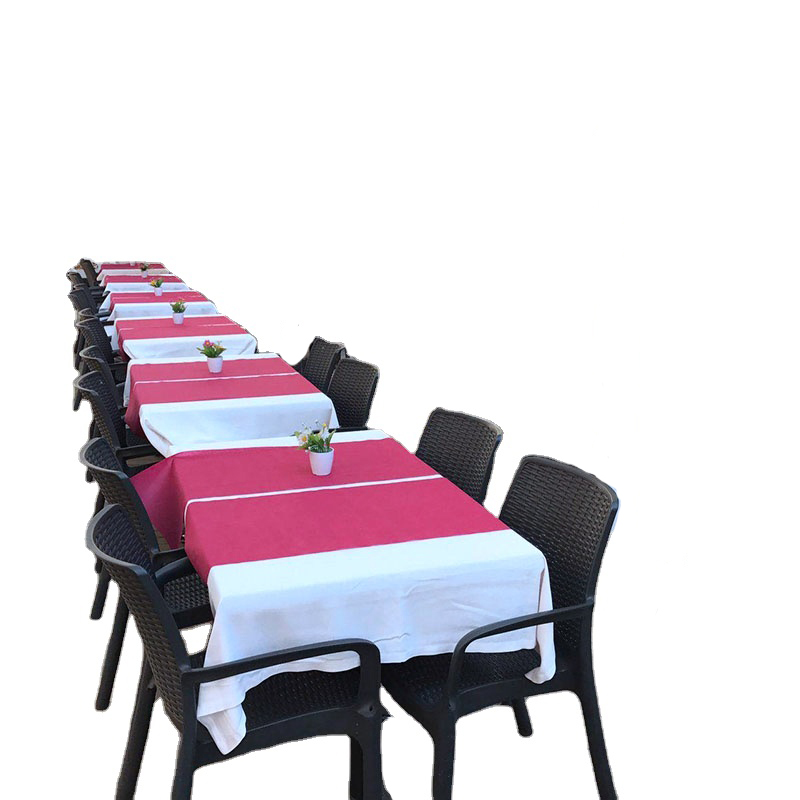 product-Customized tnt table cloth pp non woven fabric table runner disposable dining table cover ta