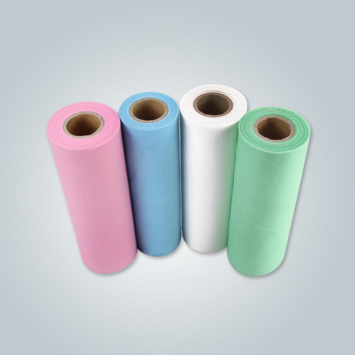 Non woven bed sheet roll pre-cut bed non-woven cloth Nonwoven reels for hospital use