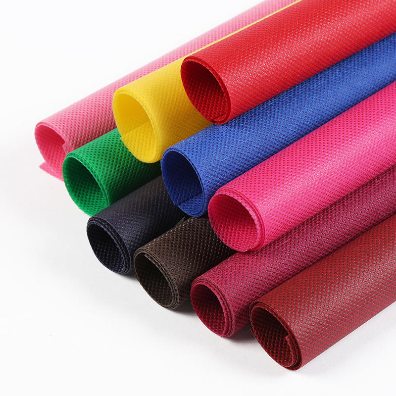 All colors are available waterproof TNT polypropylene nonwoven fabric tablecloth roll