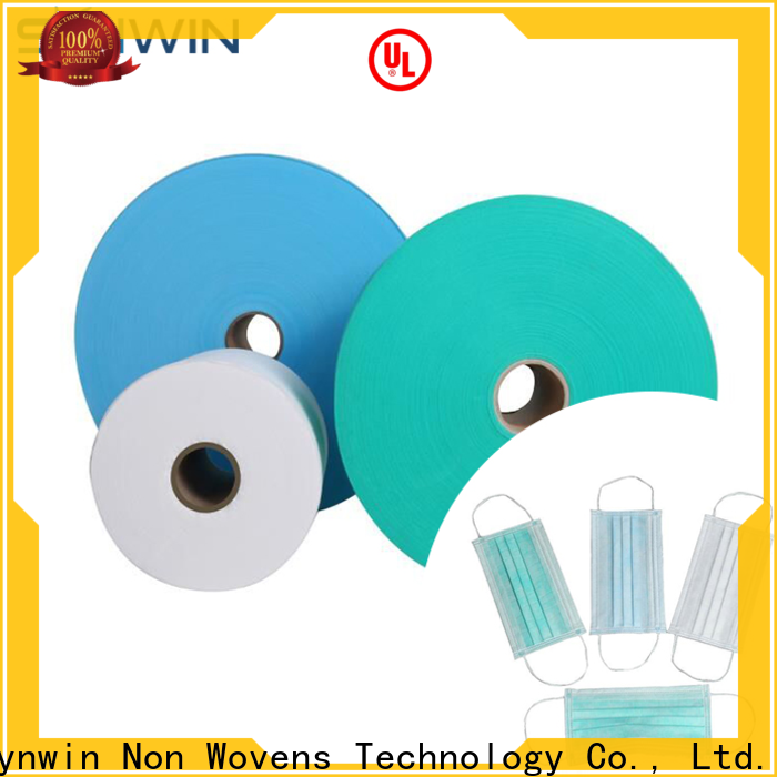 Top melt blown nonwoven fabric material factory for tablecloth