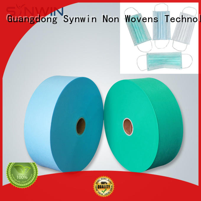 Synwin woven polypropylene fabric directly sale for tablecloth
