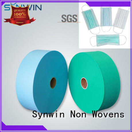 Synwin best seller disposable face mask fabrics from China for hotel