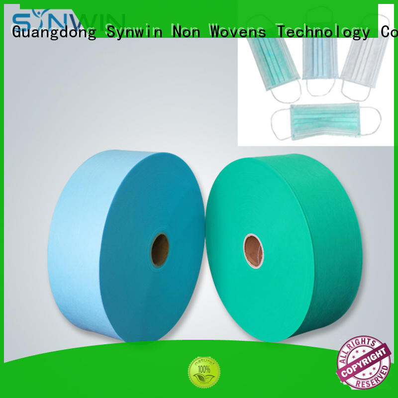 Synwin creative disposable face mask fabrics manufacturer for home