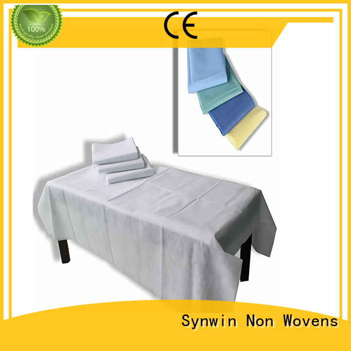 Synwin disposable bed sheets factory price for hotel