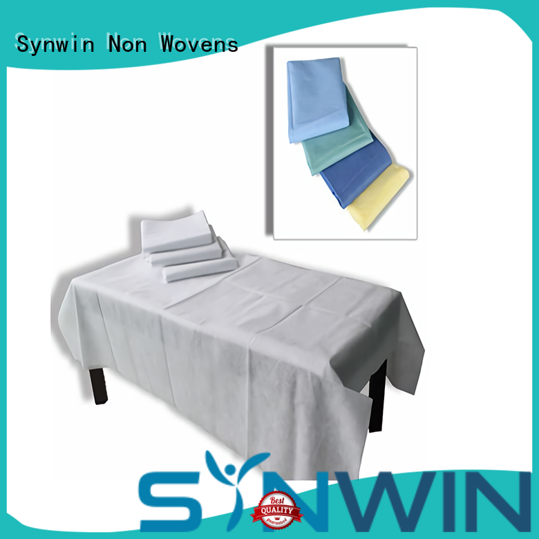Synwin disposable bed sheets wholesale for hotel