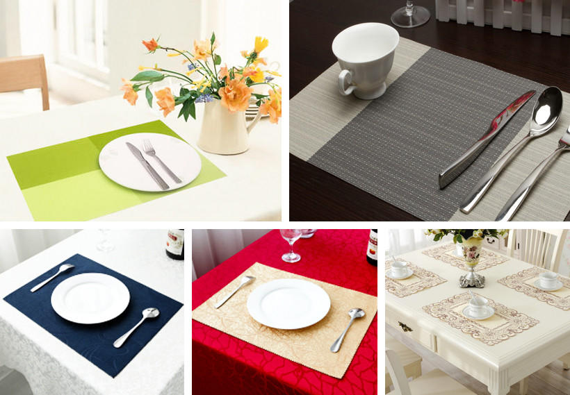Synwin fabric placemats factory price for home