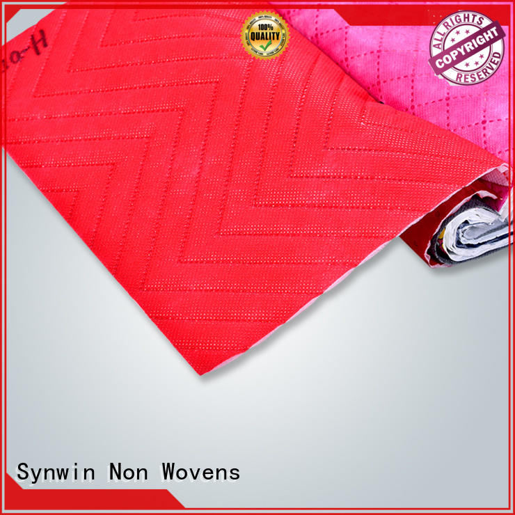 Synwin Non Wovens non spunbond polypropylene fabric from China for hotel