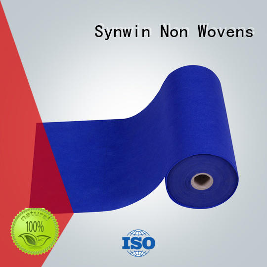 Synwin Non Wovens Brand perforated blue custom non woven fabric