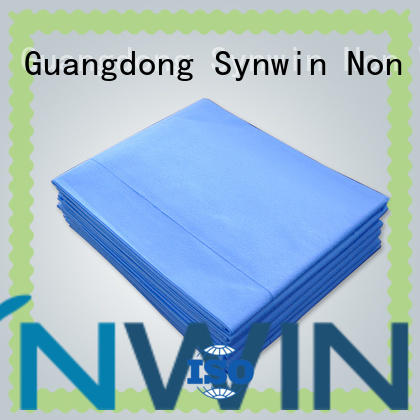 Synwin Non Wovens durable disposable bed sheets sheet for hotel