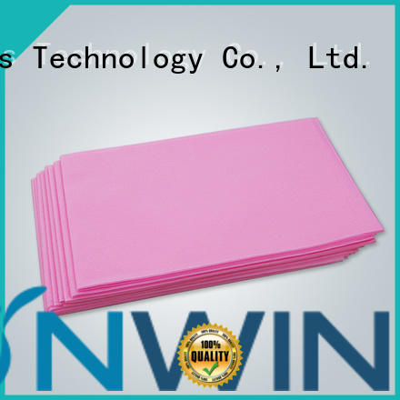Synwin waterproof sms auto fabrics factory price for tablecloth