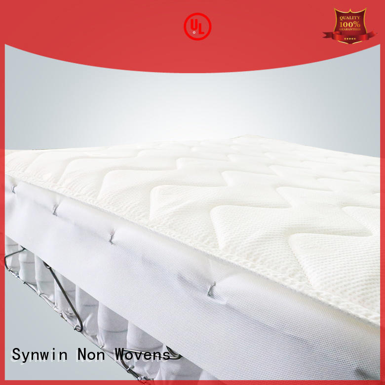 colors hot sale sky bedding mattress protector fabic Synwin Non Wovens company