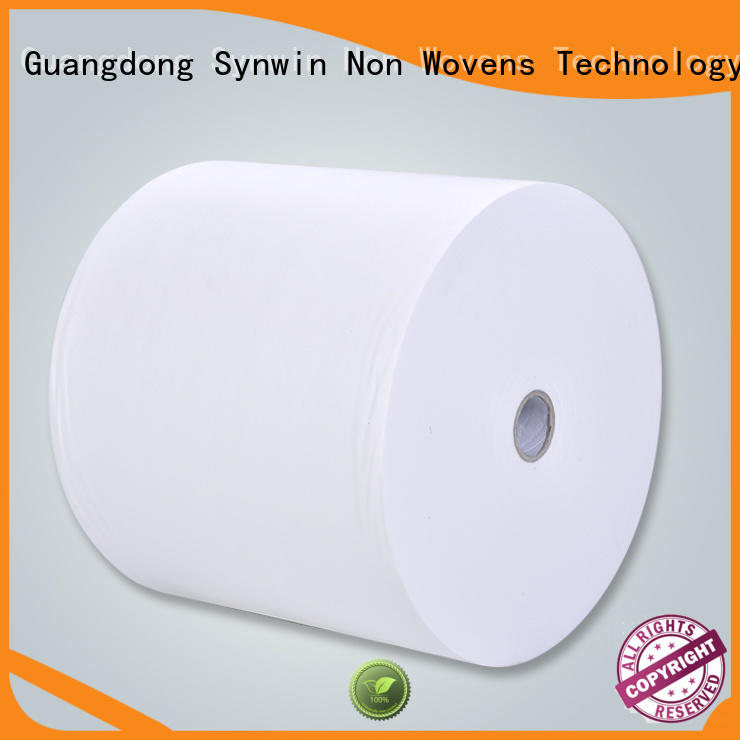 spring non woven polyester fabric customized for packaging