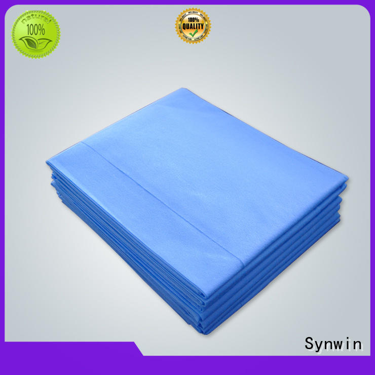 Synwin quality disposable bed sheets supplier for hotel