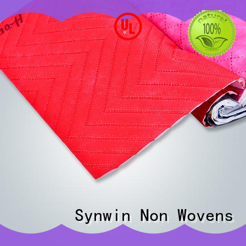 Synwin Non Wovens quilting spunbond fabric customized for hotel