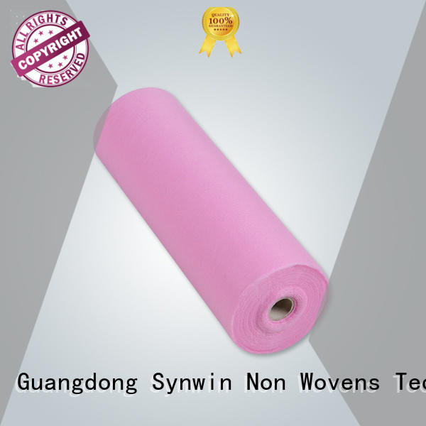 Quality Synwin Non Wovens Brand bonded 70gsm disposable bed sheets