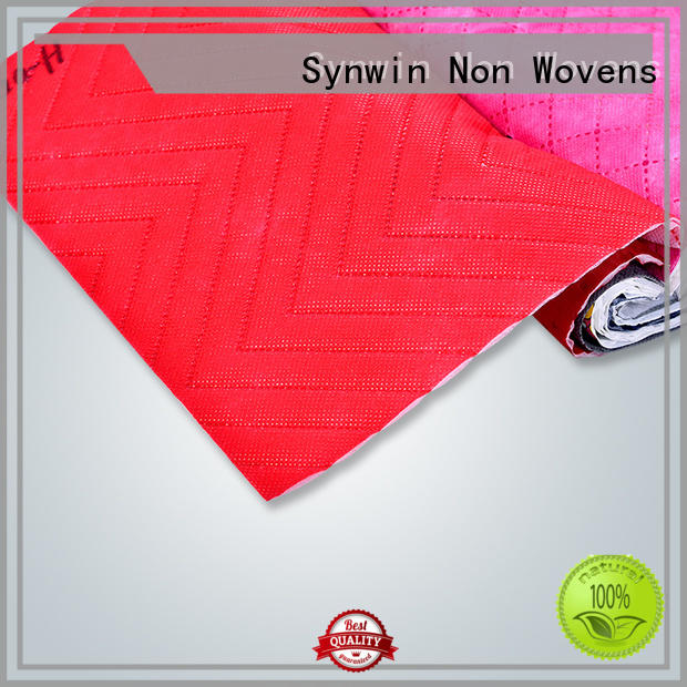 Synwin woven polypropylene fabric customized for hotel