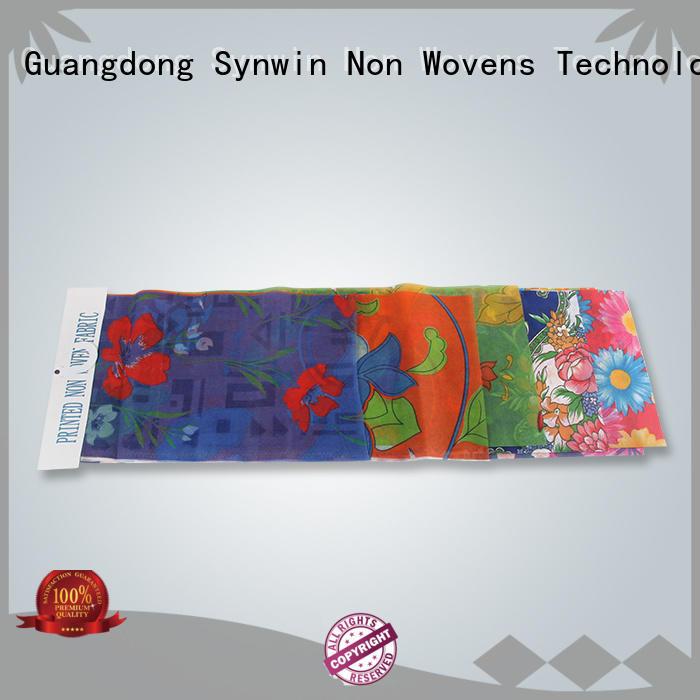 Synwin Non Wovens sofa cover fabric design for hotel